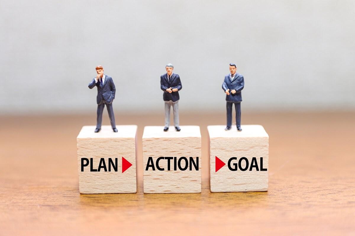 業務効率化では目標を意識した施策計画が重要